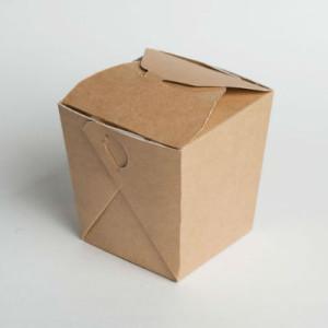 Коробка для лапши самосборная