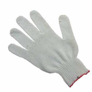 Перчатки ХБ белые без ПВХ